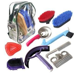 horse grooming kit